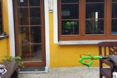Terassentür und Fenster