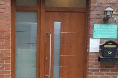 Haustür mit Seitenteil Model Werse