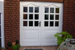 Haustür mit Seitenteil Model Neustrehlitz 07  angepasst