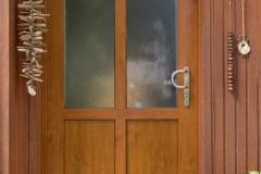 Haustür frei geplant aussenansicht