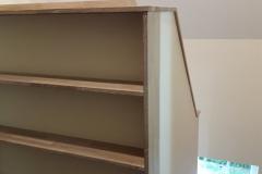 Bücherregal Eiche gekalkt