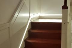 Wandverkleidung mit LED-Beleuchtung