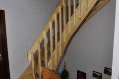 Treppe in Kiefer