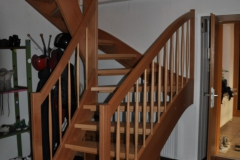 Treppe in Buche